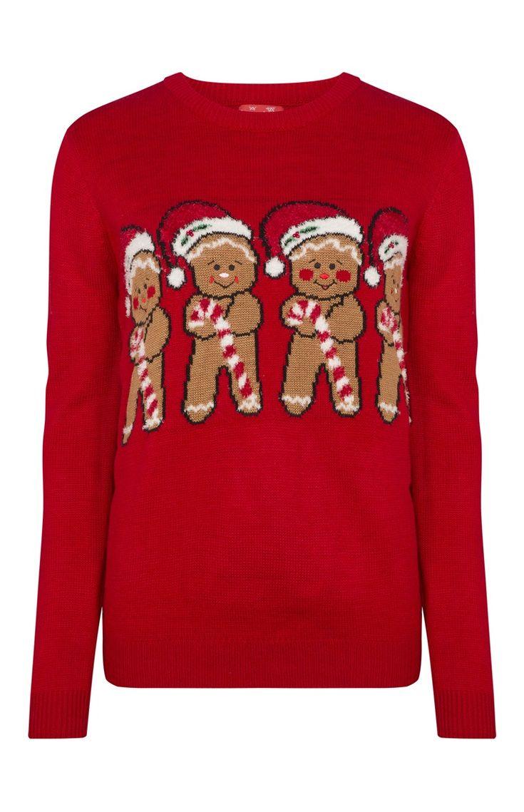 primark gingerbread men christmas jumper ohh winter time pinterest mens christmas