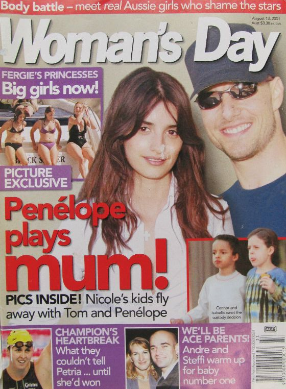 Woman's Day, August 13 2001- FERGIE