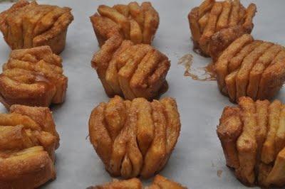 Mini Cinnamon Pull-apart Bread