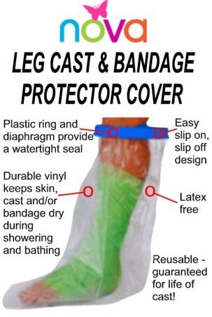 LEG CAST COVER PROTECTOR