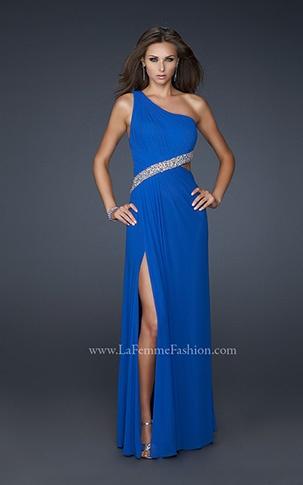 electric blue prom dress    #prom #dress