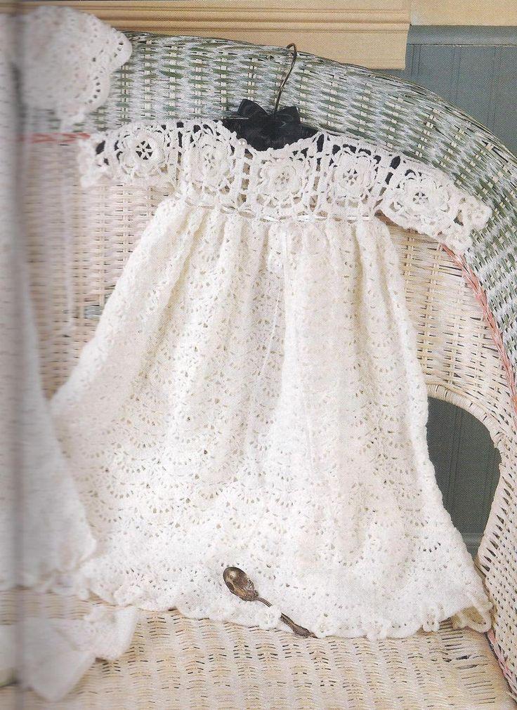 Free Crochet Patterns to Print | Free Crochet Patterns To Print | CROCHET CHRISTENING PATTERNS ...