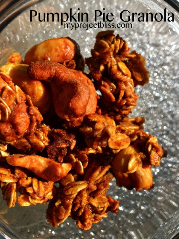 pumpkin pie granola | The Raw and the Cooked | Pinterest