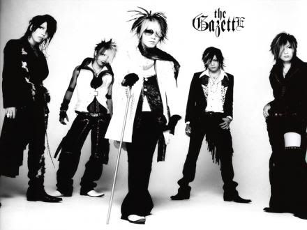 One of my favorite Japanese visual kei bands, The GazettE