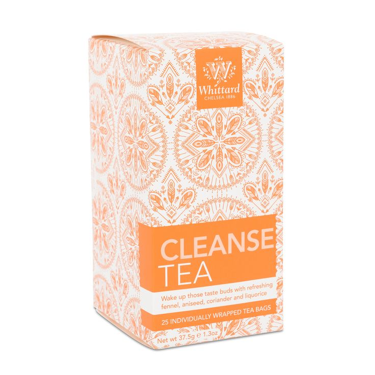 Buy Cleanse Tea tea from Whittard of Chelsea, specialists in fine tea, coffee and cocoa. Part of our wellness tea range available online.