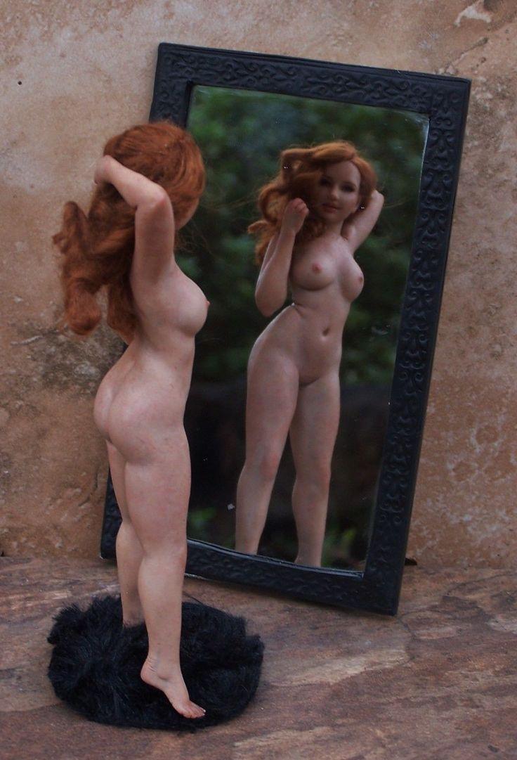 Art Doll by Melissa Drapeau. Miniatures