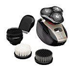 Remington XR1410 Verso Wet & Dry Mens Shaver & Trimmer Grooming Kit Mens Electric Razor Facial Cleaning Brush Beard Trimmer