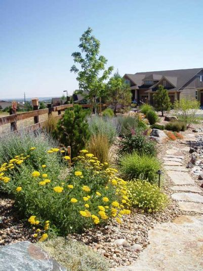 Denver Xeriscape Landscape Design Colorado