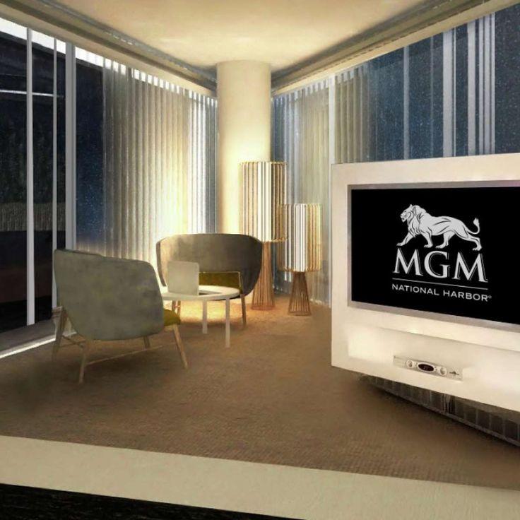 MGM National Harbor corner suite