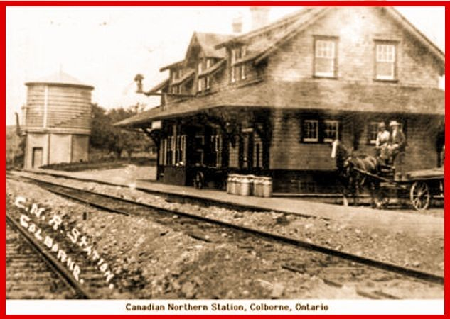COLBORNE, Ontario - Canadian Northern Railway station - pc_edited
