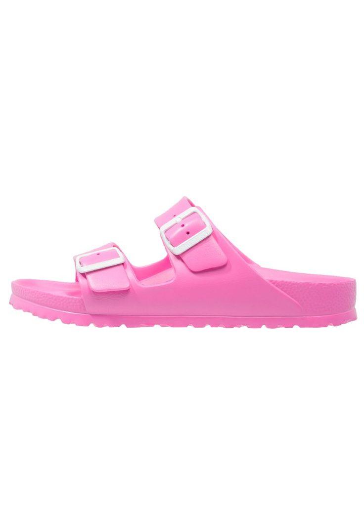 Birkenstock ARIZONA Sandały kąpielowe neon pink