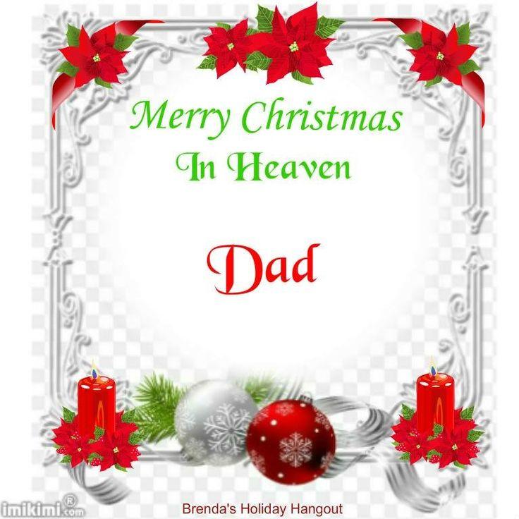 Merry Christmas Dad In Heaven Nemetasaufgegabeltinfo