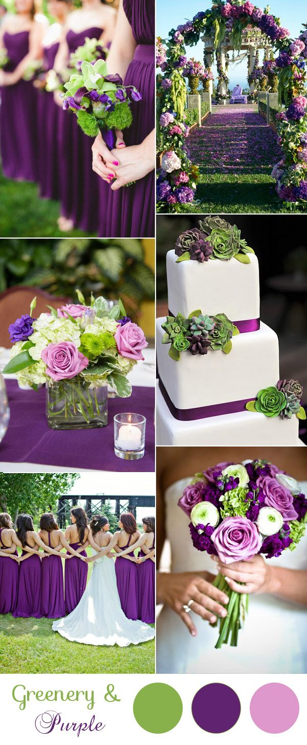Best 25 Purple And Green Wedding Ideas On Pinterest
