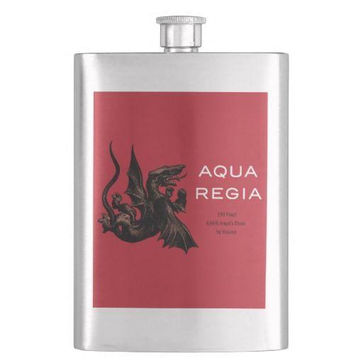 Aqua Regia Flask http://www.zazzle.com/aqua_regia_flask-256882344382199985?rf=238675983783752015