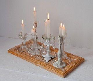 Świecznik dekoracja