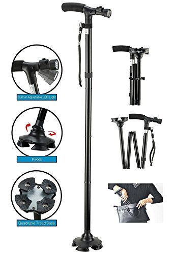 Shuweiuk Folding Cane, BeGrit Dependable Ajustable Height Lightweight Folding Walking Stick Cane with Built-i No description (Barcode EAN = 0768430016762). http://www.comparestoreprices.co.uk/december-2016-6/shuweiuk-folding-cane-begrit-dependable-ajustable-height-lightweight-folding-walking-stick-cane-with-built-i.asp