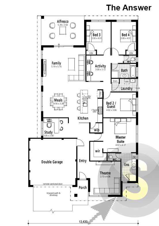 52 best smart home floorplans images on pinterest house design the floor plan malvernweather Image collections