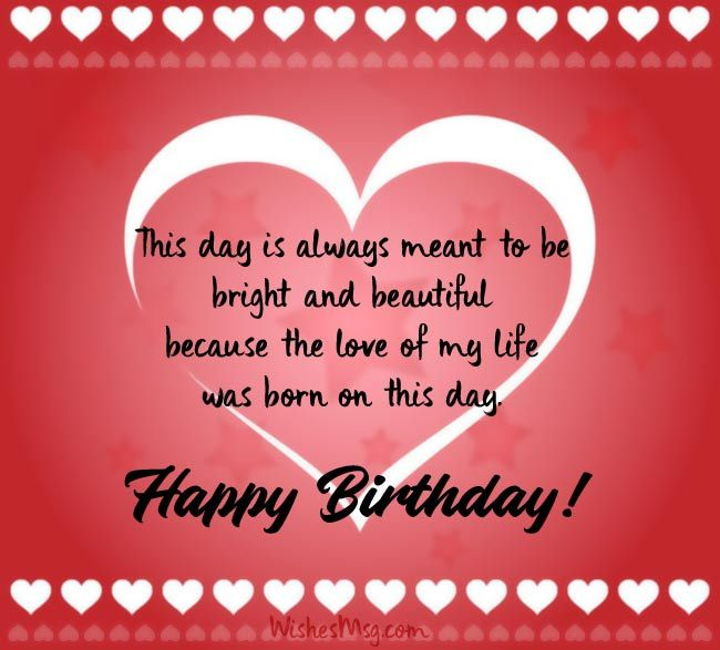 Birthday Wishes For Boyfriend Romantic Birthday Messages