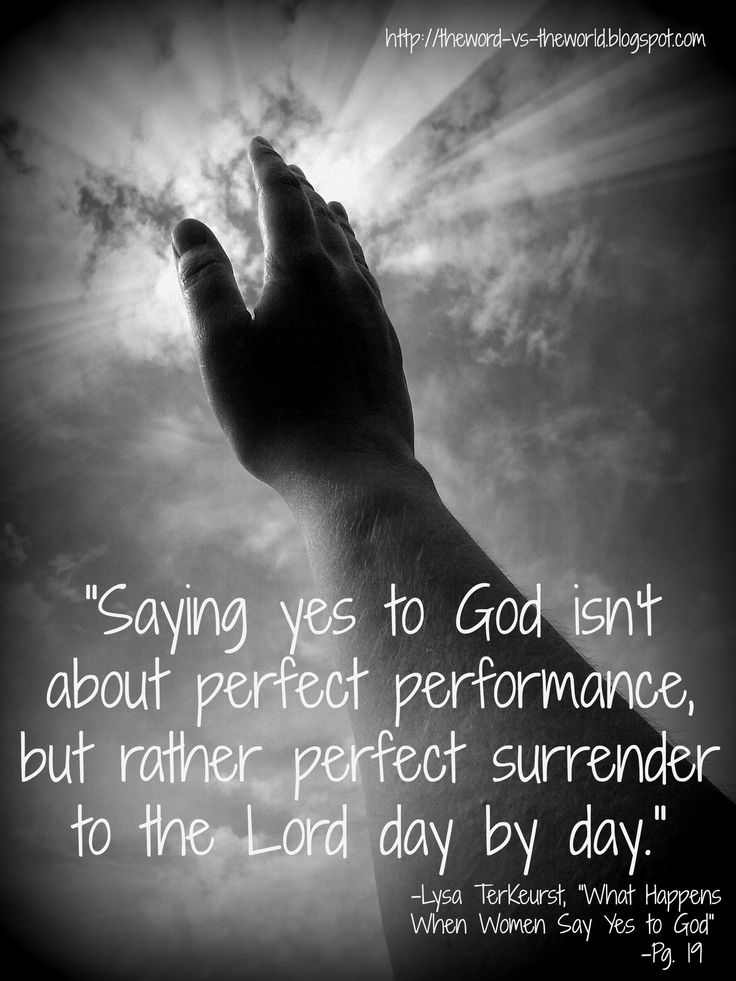 """""""Forever and Never, Amen."""" blog post.  Quote on Lysa TerKeurst's book: """"What Happens When Women Say Yes to God"""" (Ch. 1).  #SayWhat"""