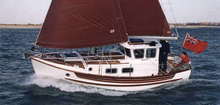 Fisher 25 Motorsailer. A proper small yacht.