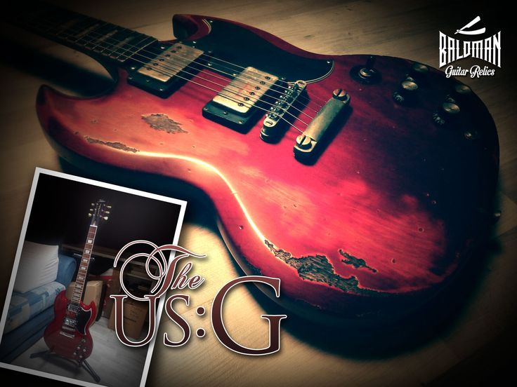 MXKT Custom Guitars: Baldman Guitar Relics