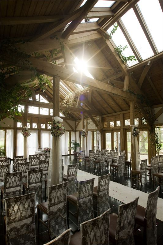 The Oak Tree of Peover wedding venue in building designed by Roderick James Architects