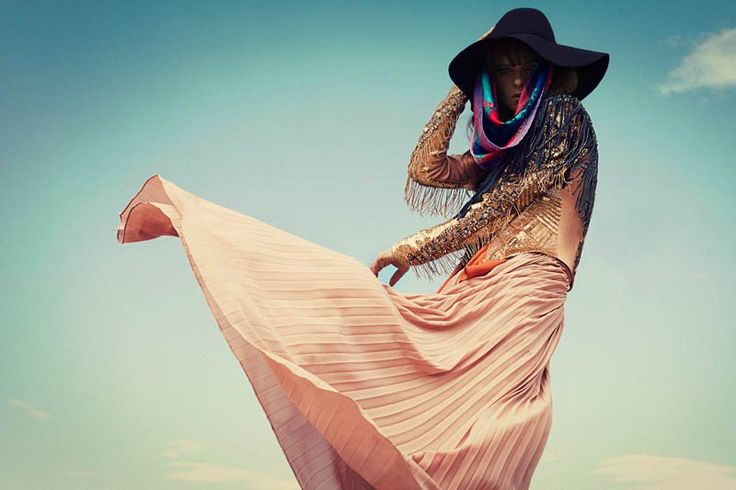 bohemian marie claire1 Lauren Switzer is Bohemian Chic for Marie Claire Latin America by Vladimir Martí