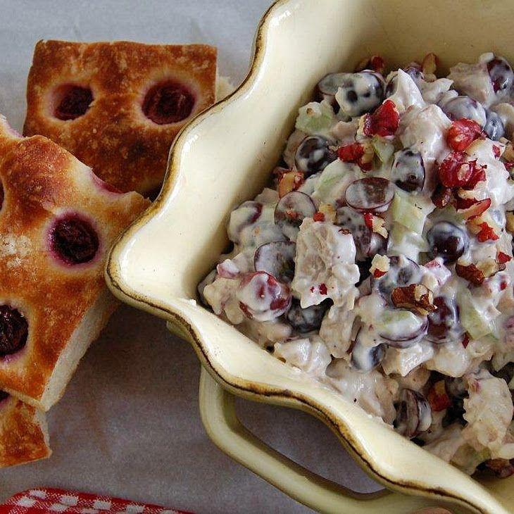 Skinny Waldorf Salad- I'll be using greek yogurt only- no mayo!