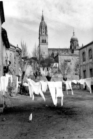 Vista de la catedral desde la Iglesia de Santiago -Sin fecha- LUIS CORTES