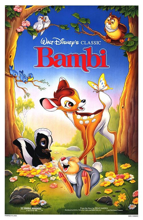 Bambi- Artemis's favorite movie