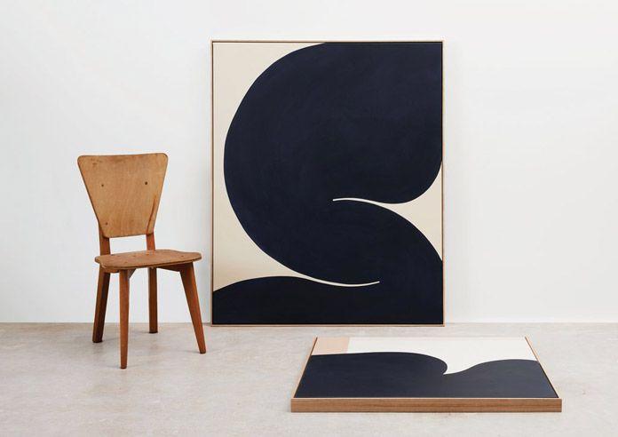 Abstract Paintings by Australian Artist Caroline Walls