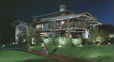 Doc Emmett Brown's 1955 house in BttF.: Brown 1955, Doc Brown Estates, Movie Locations, 1955 Houses, Brown Houses, Gamble Houses, Doc Houses, Back To The Future, Emmett Brown
