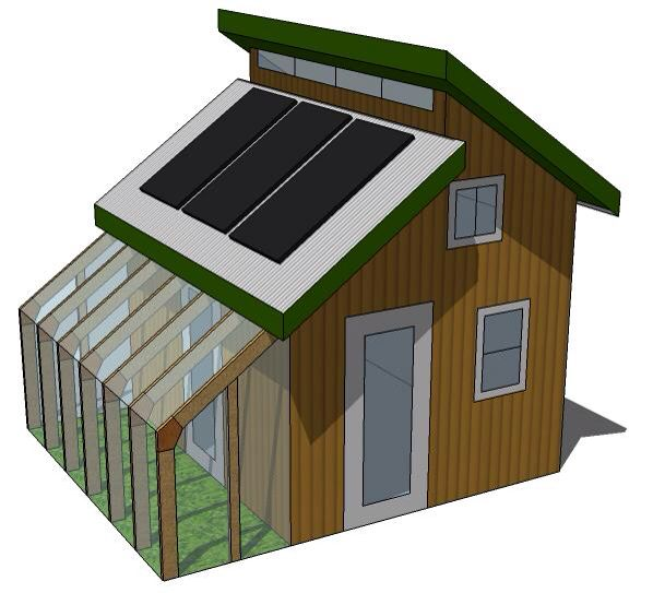 Mini greenhouse home boom my dream home pinterest for House plans with greenhouse attached