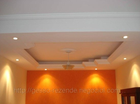 Sala Pequena Com Gesso ~ 1000+ images about GESSO on Pinterest  False ceiling ideas, Lighting