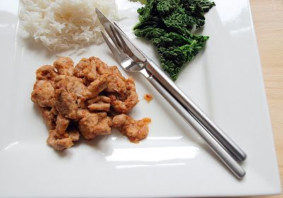 Trufla: Po chinsku czyli slodko-kwasna wieprzowina
