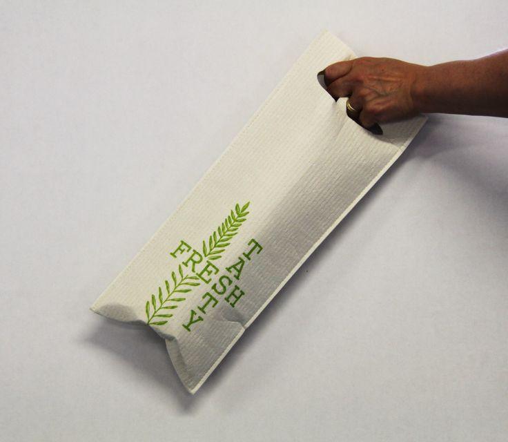 Fresh & Tasty ecological giftbag -  Design Susanna Myllymäki Kuitukuu Oy www.morejoy.fi