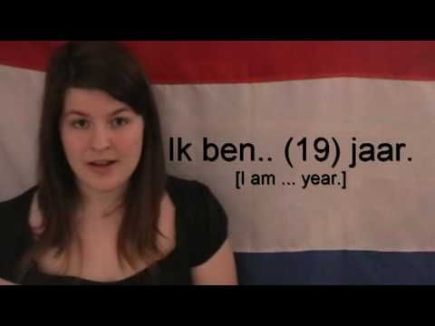 So Cute... Love this... Learn Dutch - Introducing yourself.