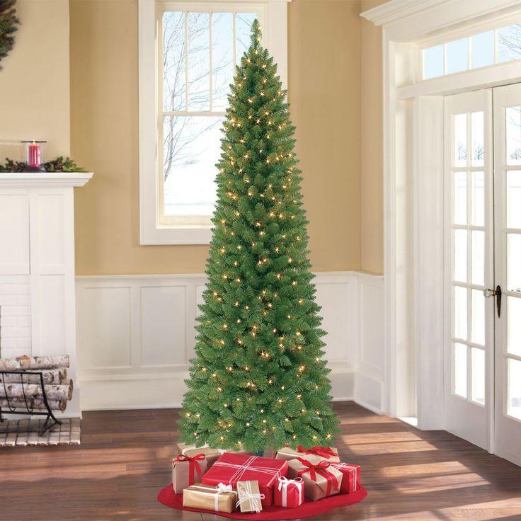 Pre Lit 7u0027 Green Pine Artificial Christmas