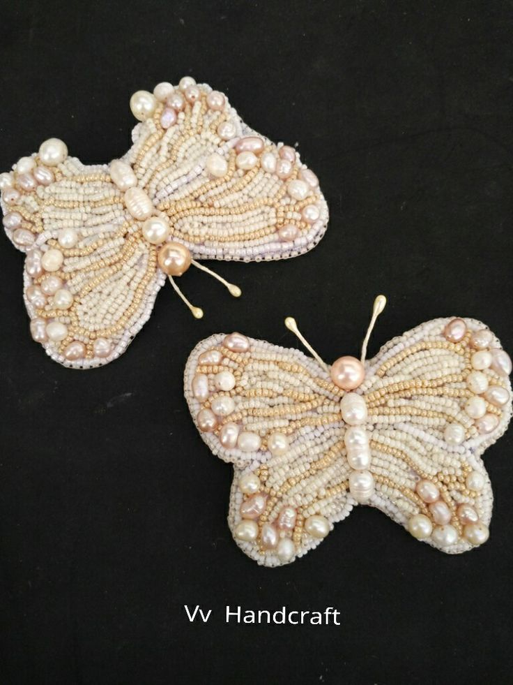 Butterfly Beads Embroidery