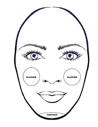 54 best long oblong face shape images on pinterest oblong contour and highlight for oblong faces urmus Gallery