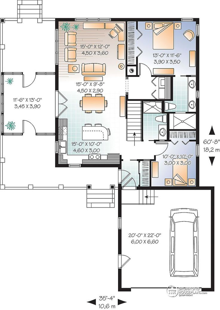 180 Best Home Plans 1000 1499 Square Ft Images On