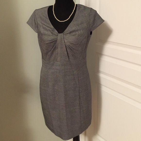 Like New Armani Dress Dress has been worn once but is in mint condition. Fully lined zipper back Armani Dresses Midi