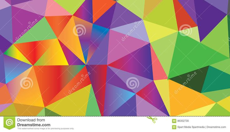 Triangle Pattern of Carnival, Festival, Masquerade Mardi Gras invitation poligonal colorful background design. Vector illustration. poligon,	art vector, icon triangular. Funfair, parade funny tickets, banners, poster, placard, flyer pattern decoration design, template.