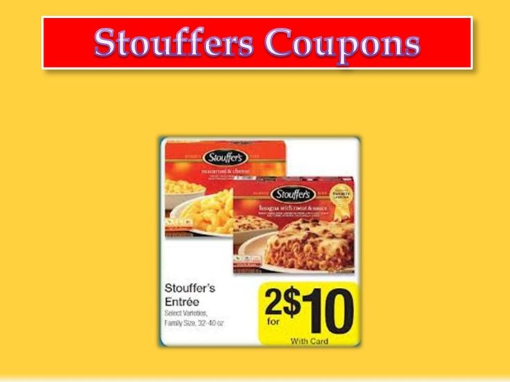 stouffers-coupons-28361671 by WorldOfAndres via Slideshare
