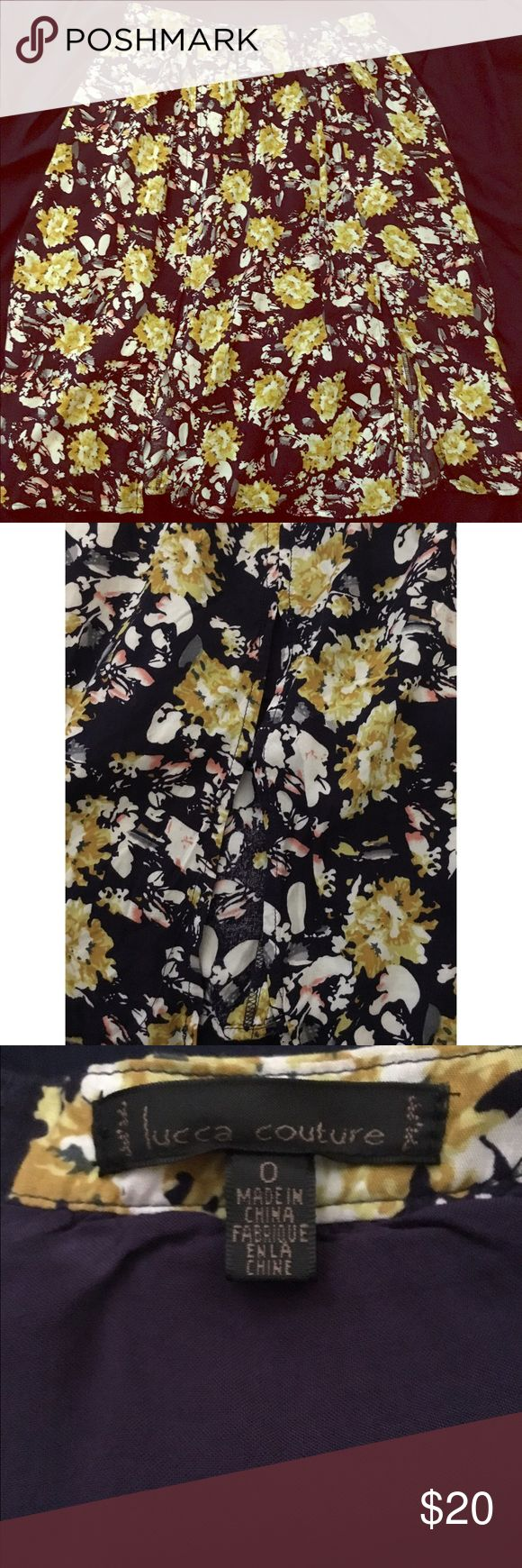 """Urban Outfitters Cute Floral Skirt Beautiful Floral skirt From Urban Outfitters 