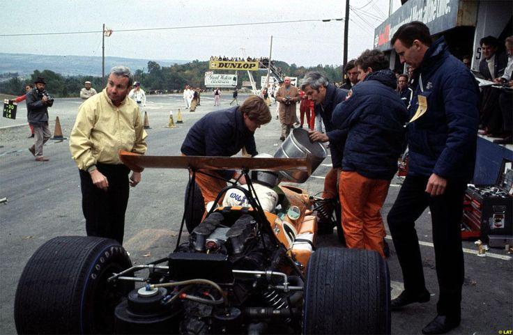 Bruce Mclaren (McLaren-Ford) Grand Prix des USA -Watkins Glen - 1968 - Formula 1 HIGH RES photos (Old and New) Facebook