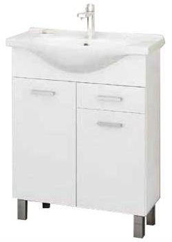 Mебель Для Ванных Комнат :: Шкафчики Для Ванной :: Нижний Bанна Шкафчик С Раковиной Mea M4