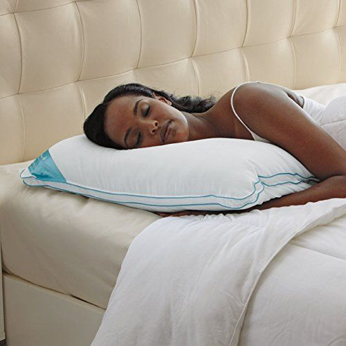 Brookstone BioSense Memory Foam Classic Pillow with Better Than Down