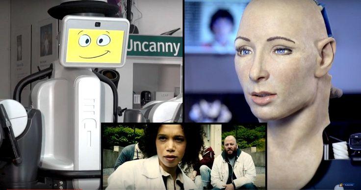 Creepy Real-Life Robots React to the Morgan Trailer -- MagicLab's EDI and the University of Pisa's FACE watch and react to the latest Morgan Trailer. -- http://movieweb.com/morgan-movie-trailer-real-robots-react/