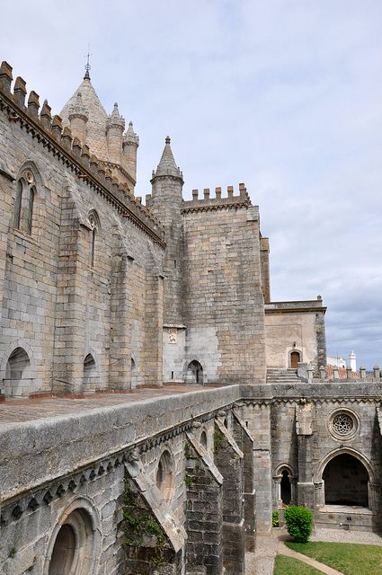 Evora, Portugal - Cathedral of Evora